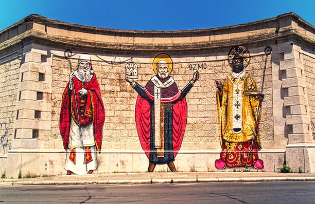 Street Art a Bari