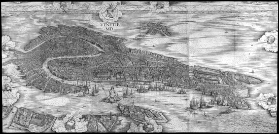 La veduta di Venezia