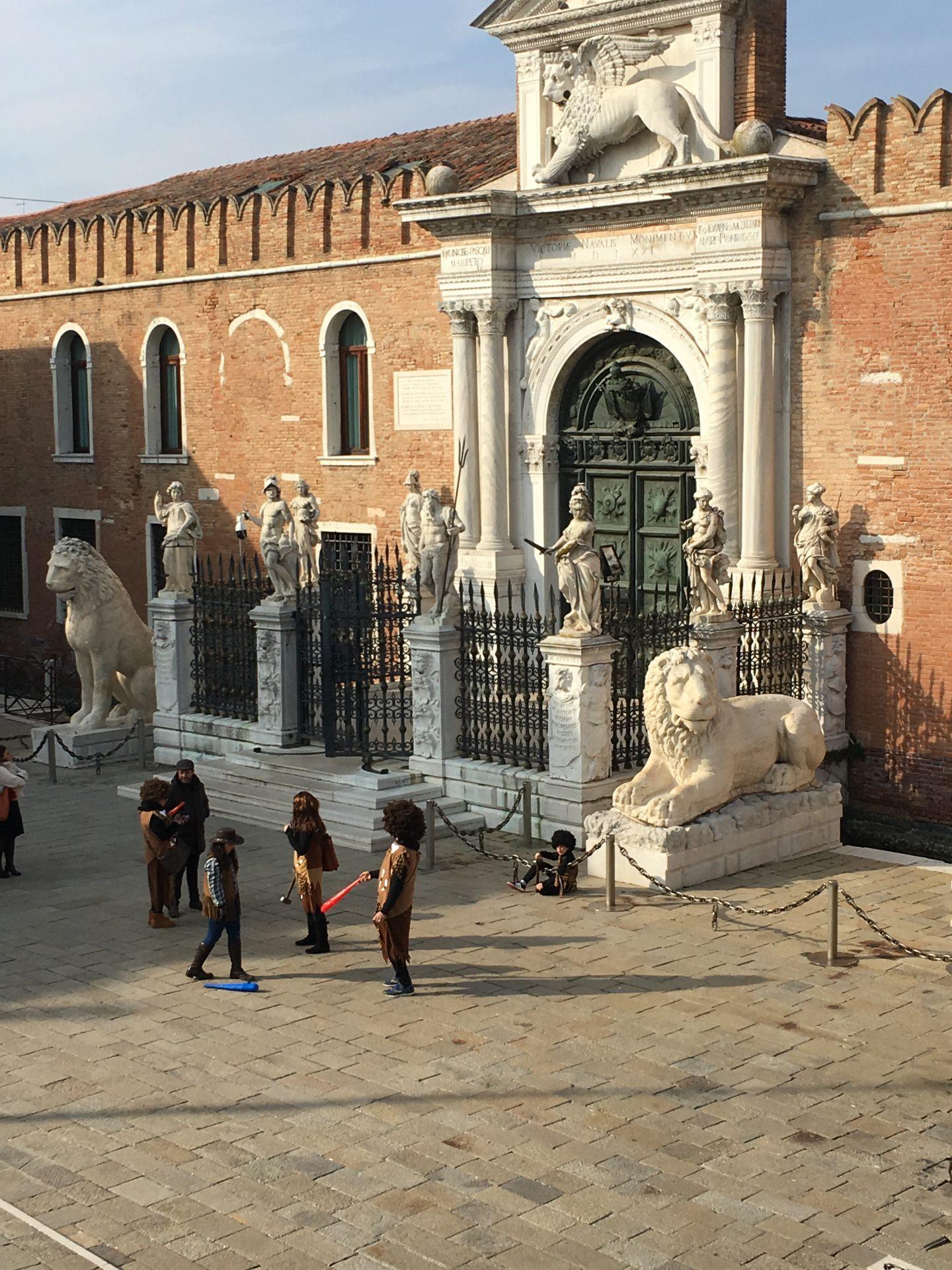I Leoni a Venezia