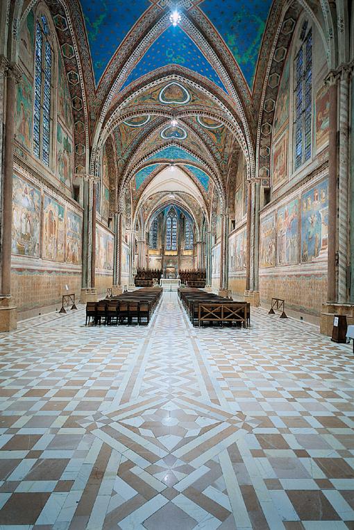 Gli affreschi di Giotto ad Assisi